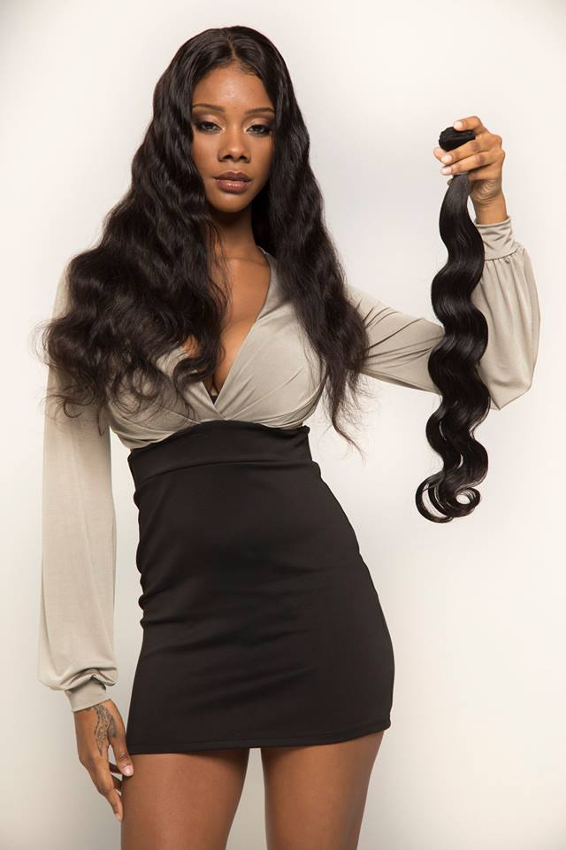 Human virgin hair extensions body wave brazilian hair peruvian hair natural black hair weaving