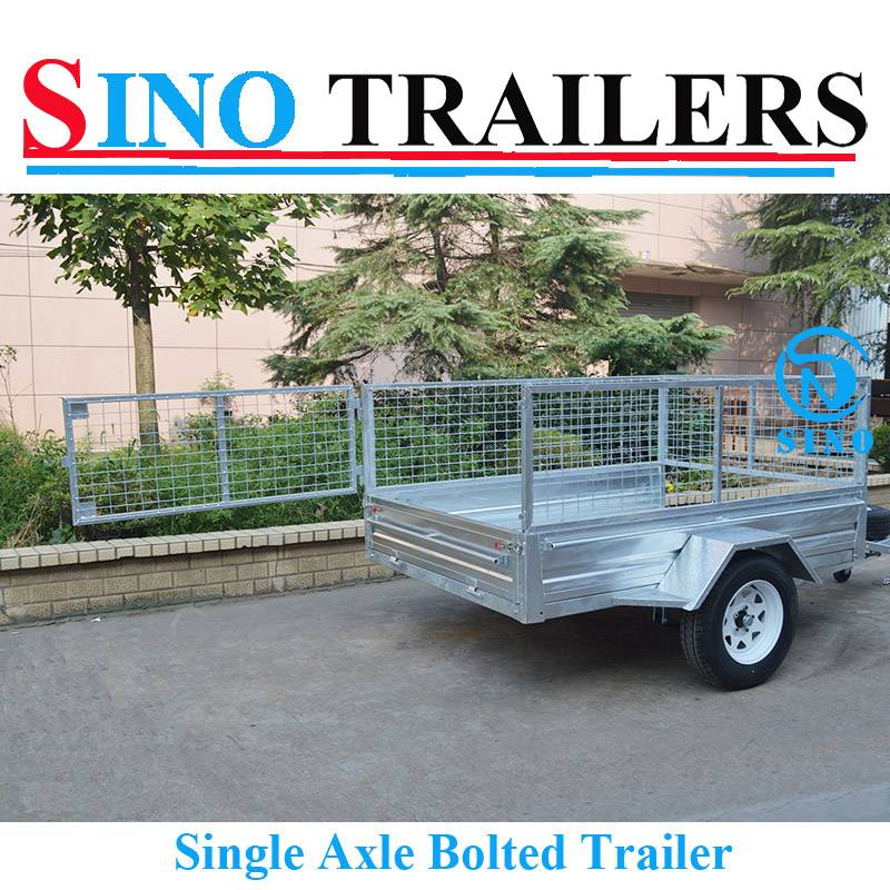 6X4 Trailer Hot Dipped Galvanized Brand New