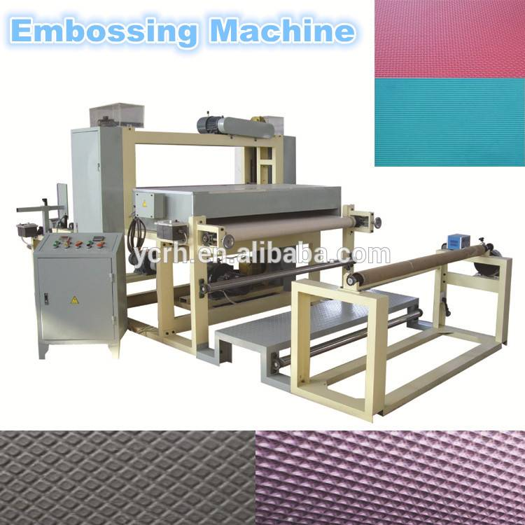 EPE foam sheet embossing machine/PE Foam embossing machine/EVA embossing machine