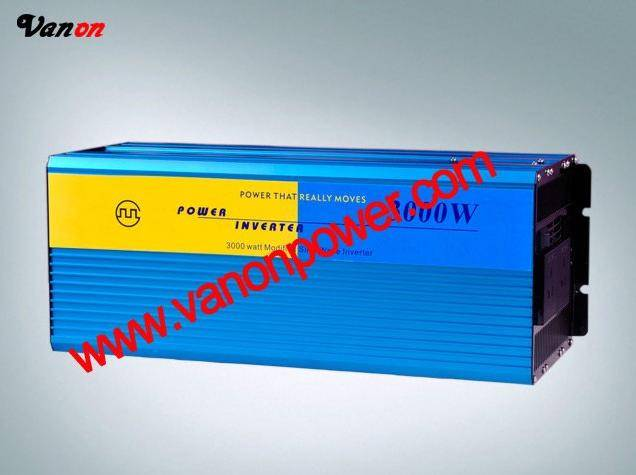 3KW/3000W Modified sine wave power inverter (12V/24V/48V to 110v/220v-50/60hz) CE,ROHS