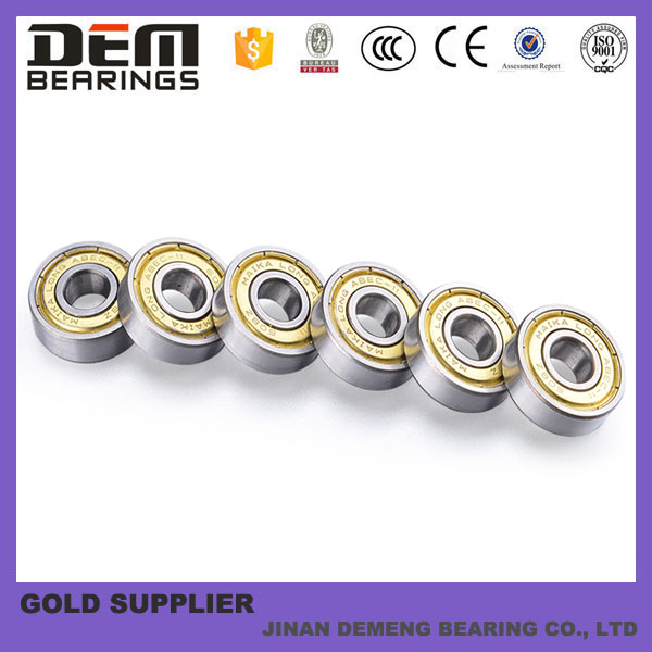 hot sale high speed and low noise chrome steel skateboard bearings 608