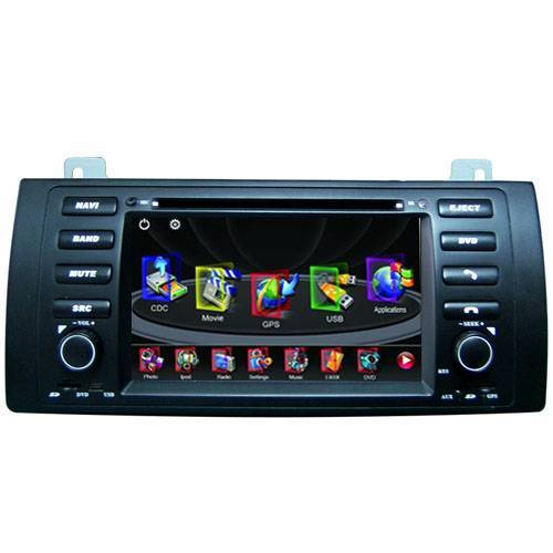 "BMW 3 E46(1998-2001) dvd Navigation radio + 7"" HD touch Screen + Bluetooth + iPOD + RDS + Phonebook"