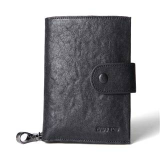 Hautton Brand High Quality Men Leather Money Clip Wallet Key Holder QB137