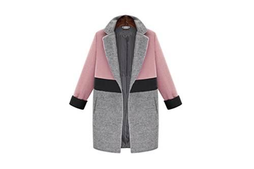 Best selling new design one button lapel cotton autumn women casual coat   Cotton Winter Custom Hood