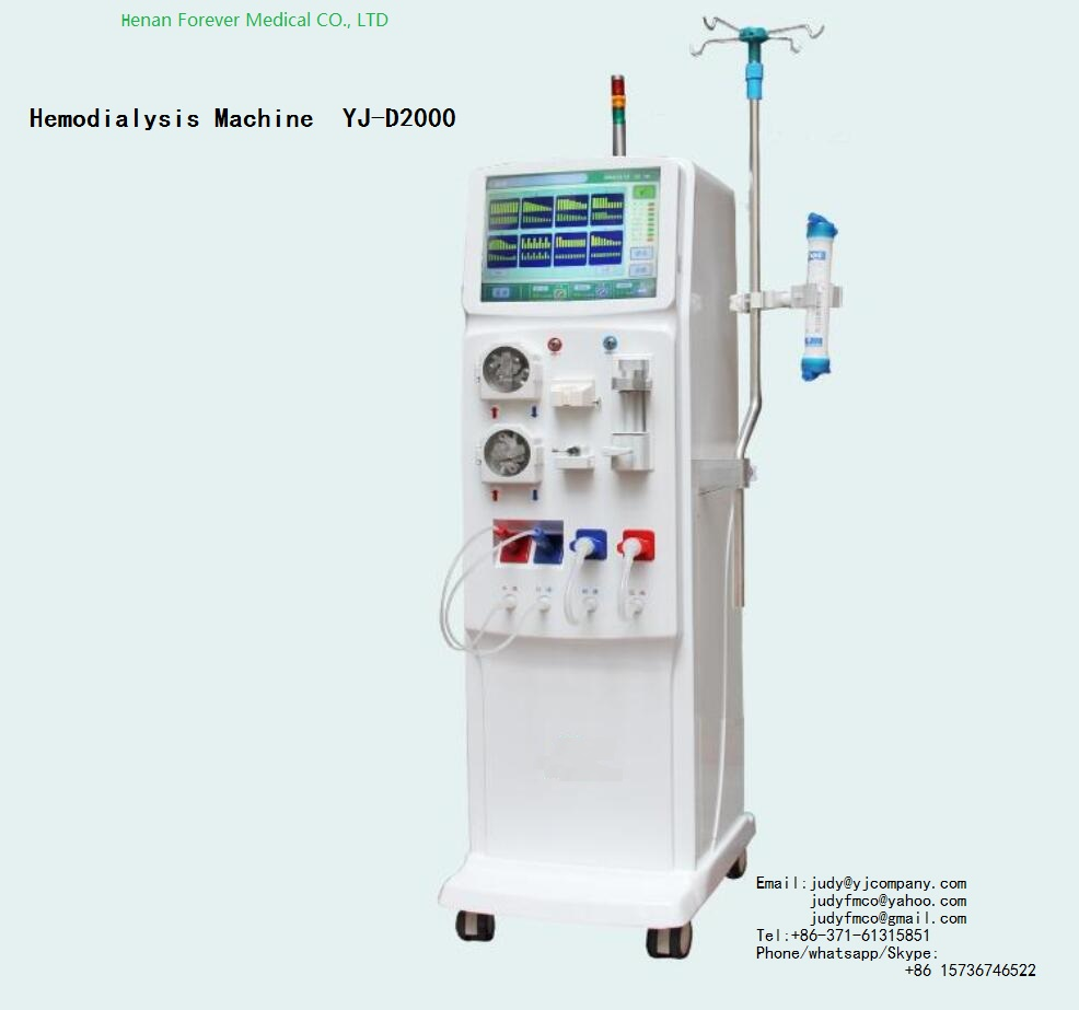 YJ-D2000 renal failure patient used Hemodialysis Machine