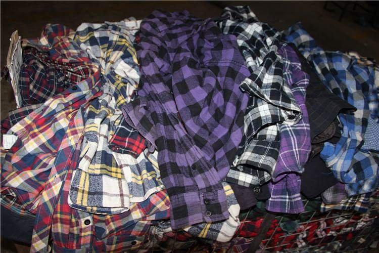 used check long sleeve shirt women used clothes sale high quality second hand clothing