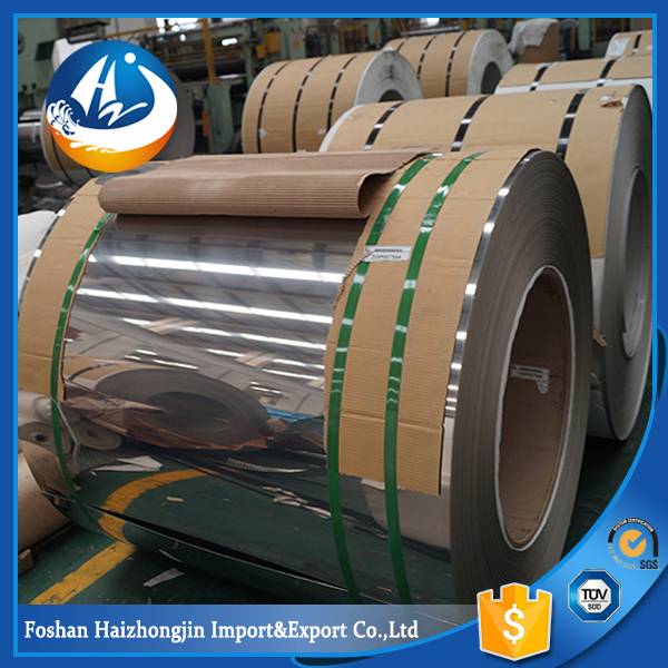 ASTM A240 304L stainless steel coils BA 8k mirror price