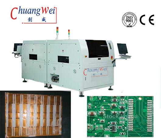 LED Auto High-precision Solder Paste Printer,CW-BTB