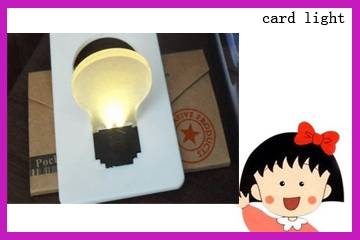 Card Light for promotional item