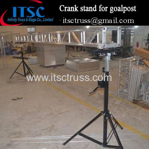 4M hight Tripod Crank stands truss goalpost