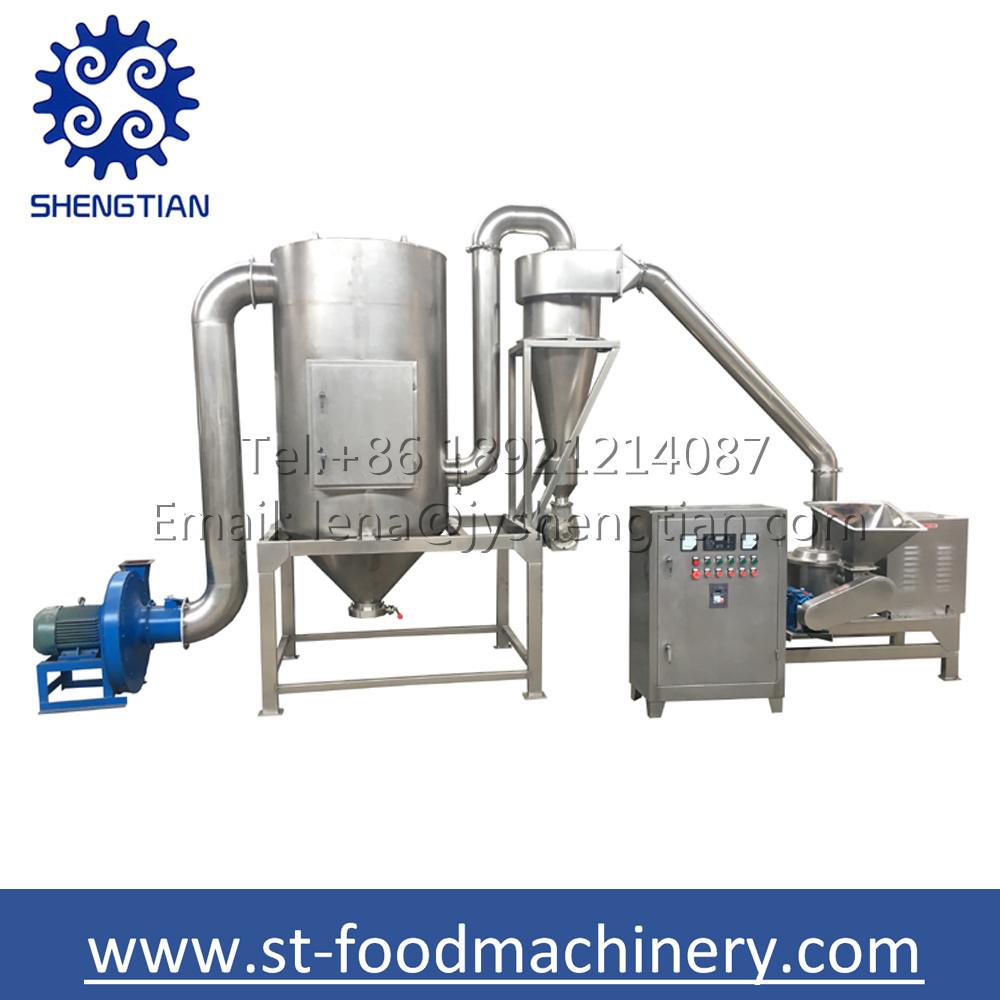 Super fine ginger powder pulverizer spice grinding machine