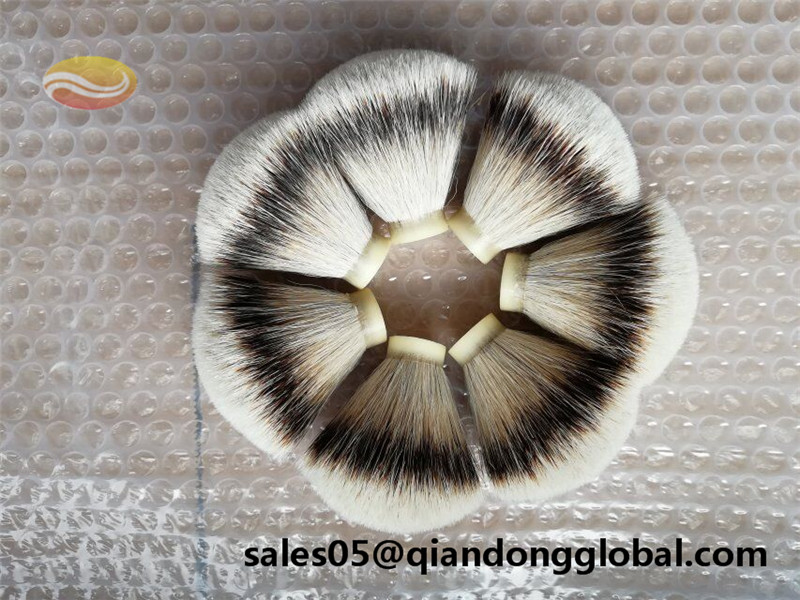 19mm Base Silvertip Badger Hair shaving brush knot