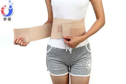 Adjustable Elastic Back Support Trimmer Belt with Magnetic and Self Heating