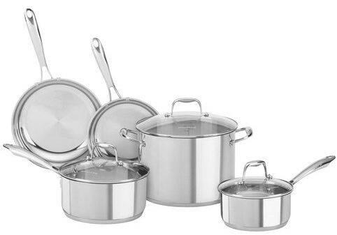 KitchenAid 8-Piece Cookware Set KCSS10LS