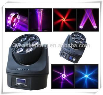 6PCS 15W B-Eye LED Moving Head Light Stage Lighting Bee Eye