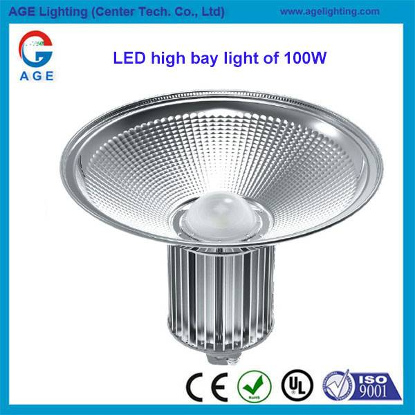 LED 100w high bay light fitting with Mean Well Driver