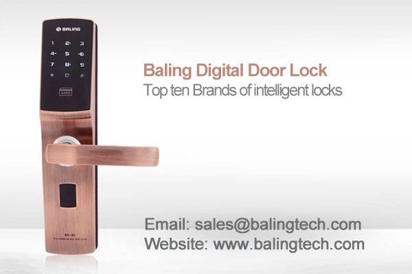 BALING reliable quality keypad password door lock EC-31S