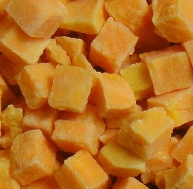 IQF diced sweet potato
