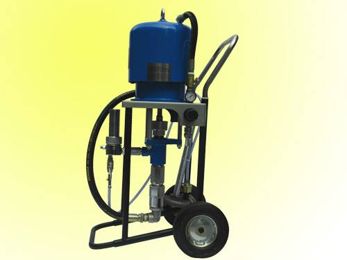 Air-compressor-assisted airless pump (piston) & Airless paint sprayer combo kit