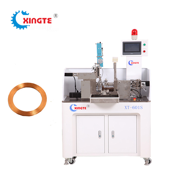 XT-601S Fully Automatic Bobbinless IC Card Hard Disk Coil Winding Machine