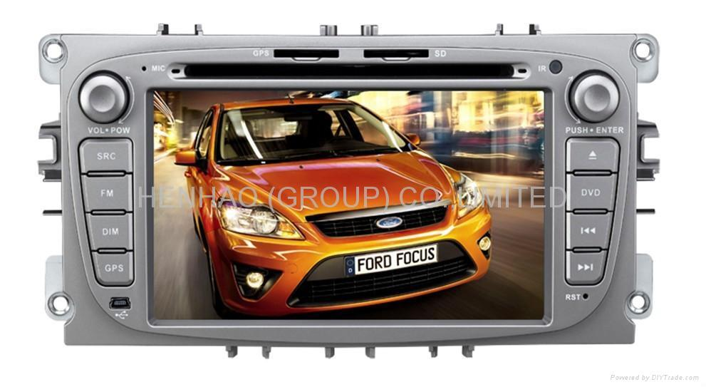 9965 Car DVD Player For Focus2009/Mondeo With GPS /Bluetooth/iPod (HD:800*480)