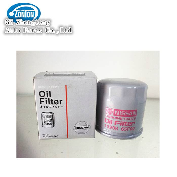 Nissan Oil Filter with No. 15208-65F00