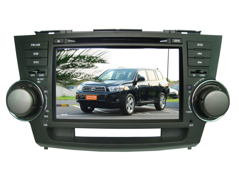 9960 Car DVD Player For TOYOTA-Highlander With GPS /Bluetooth/iPod (HD:800*480)