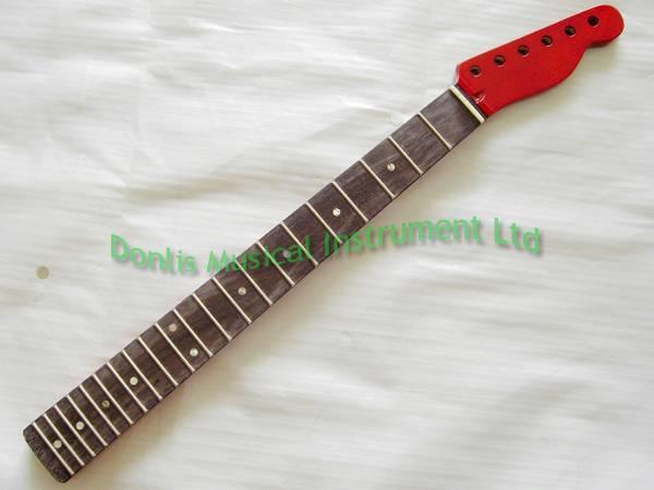 Mahogany Tele guitar neck