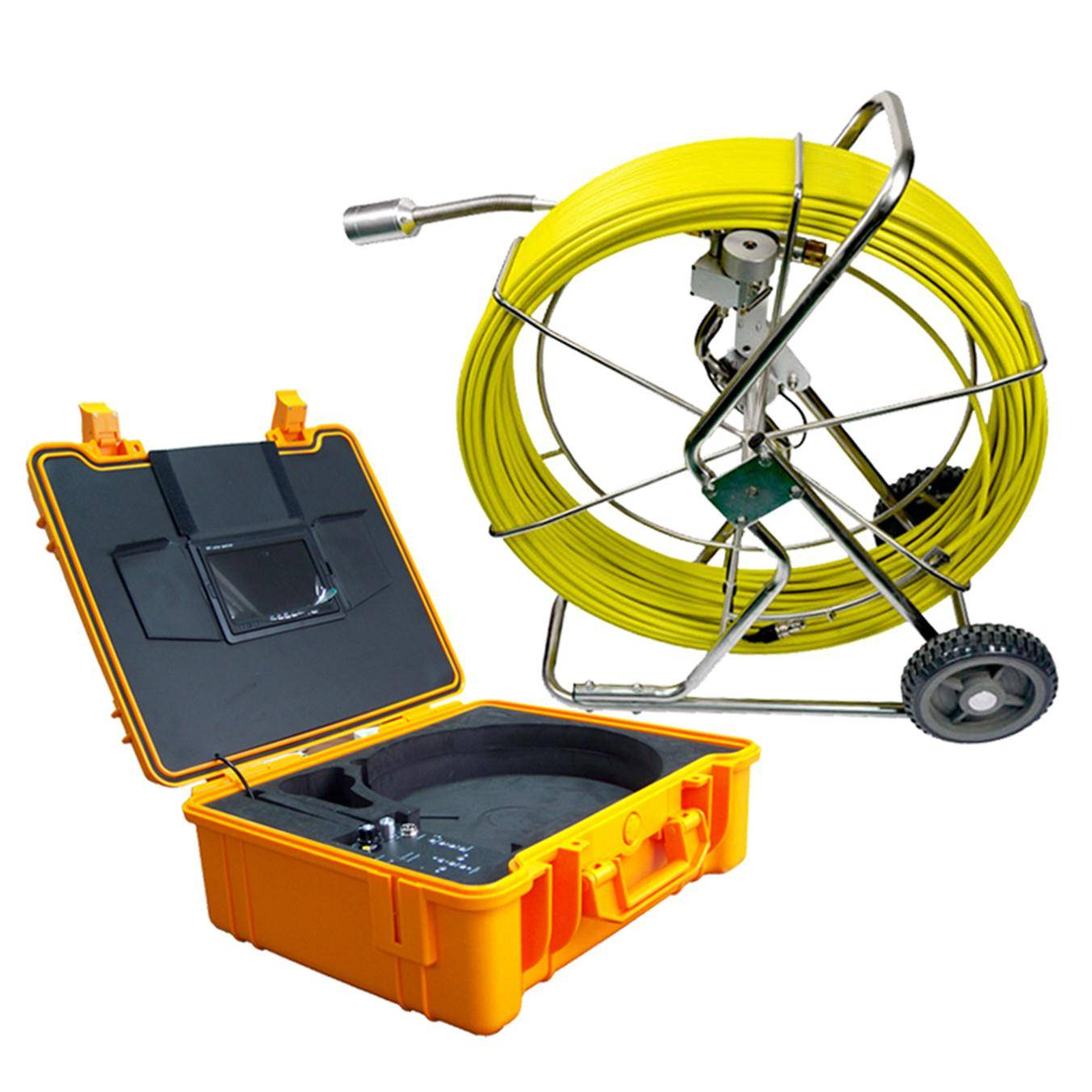 Pipe/sewer/drain inspection with video camera