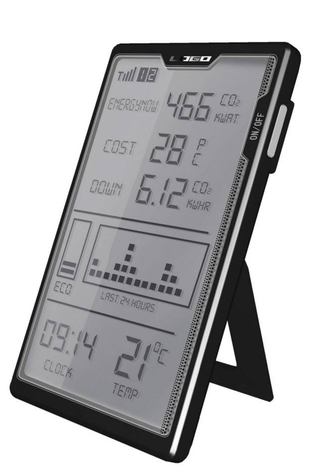 Wireless In-home display (IHD) for smart meters monitoring