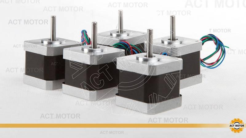 5PCS Nema17 2.5A 4 leads 17HS5425 stepper motor 3D printer