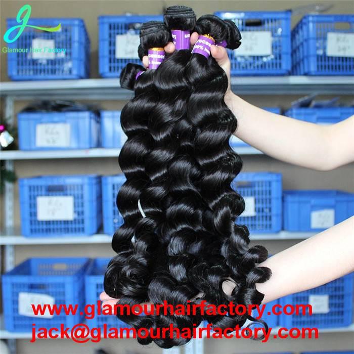 Brazilian Virgin Hair Loose Wave Brazilian Hair Weave Bundles