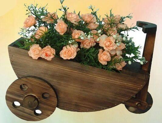 Wooden Flower Pot/Planter