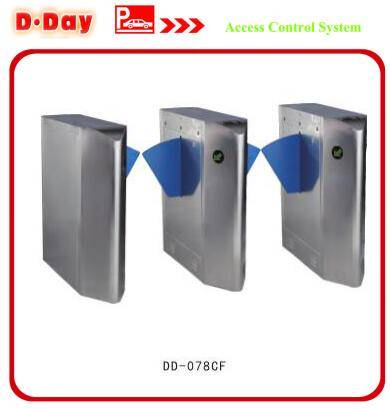 Bi-directional Access Control Angle Flap(Wing) Barrier