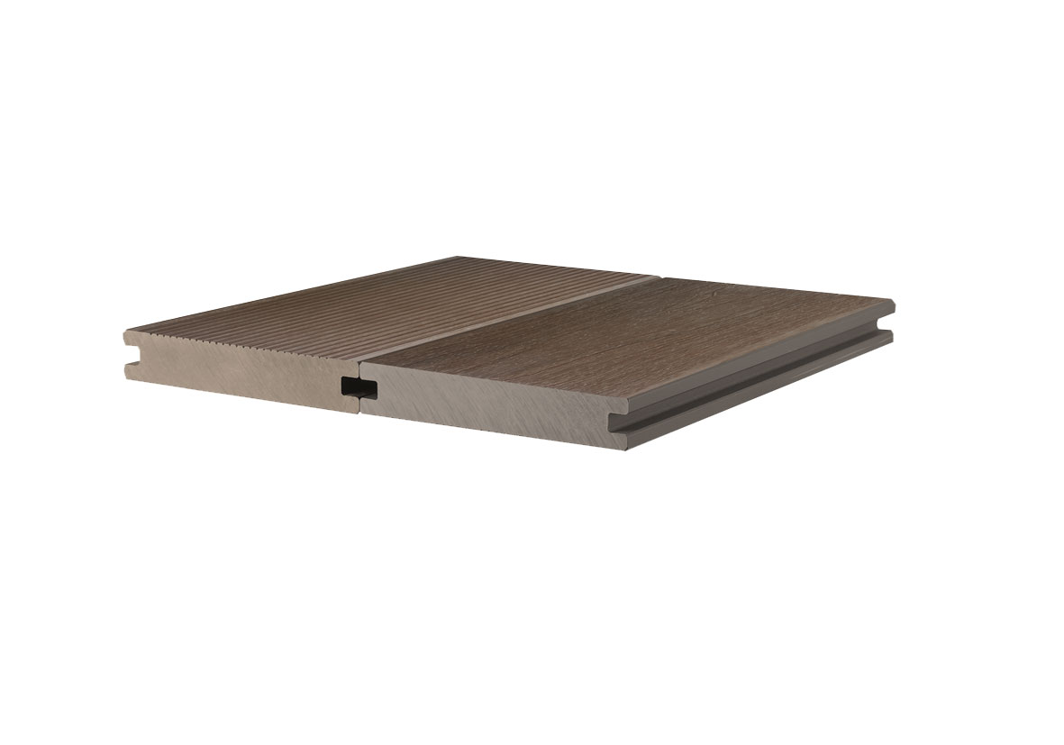 Superior Quality waterproof WPC co-extrusion deck for outdoor use