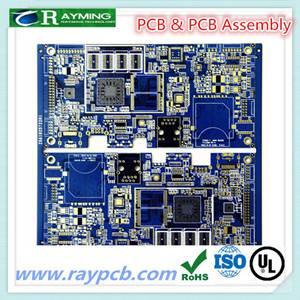 """Aluminum metal core 0.62"""" white soldermask led pcb"""