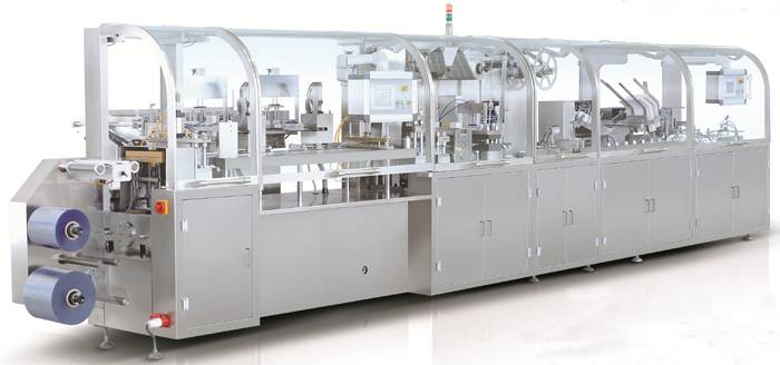 DHC-250P Injection Blister Packing Cartoning Packaging Line(Horizontal loading)