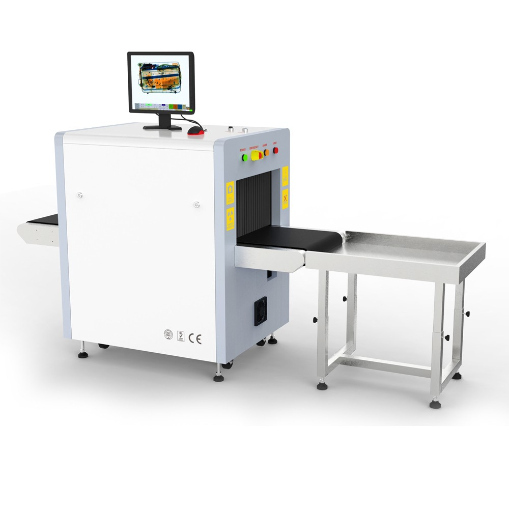 5030C hand bag x-ray scanner airport baggage scanner with high performance screening images