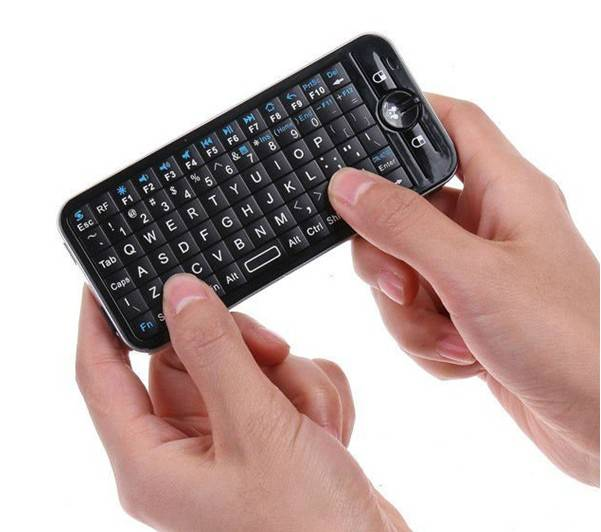 Mini Air Mouse And Keyboard With IR Remote
