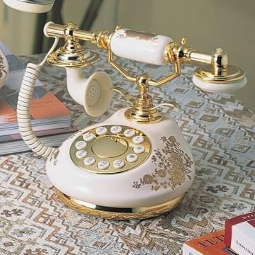 porcelian antique phone