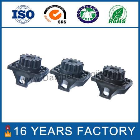 Plastic small gear damper