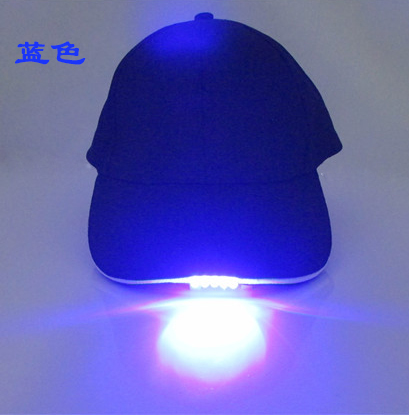 Cheap Price Led Flashing Hat for Sports Led Glowing Headlights
