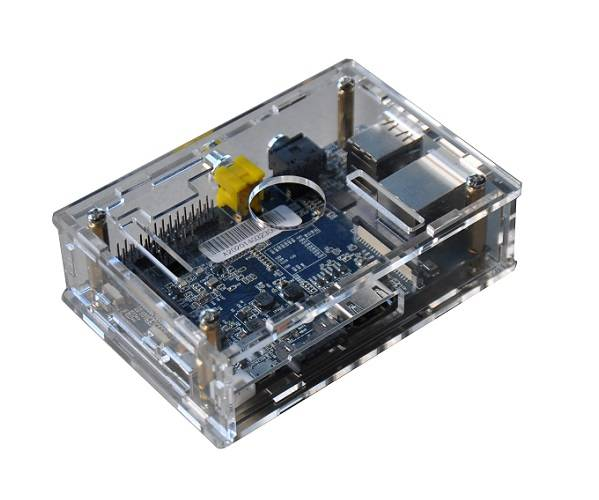High quality Clear Acrylic case for banana pi