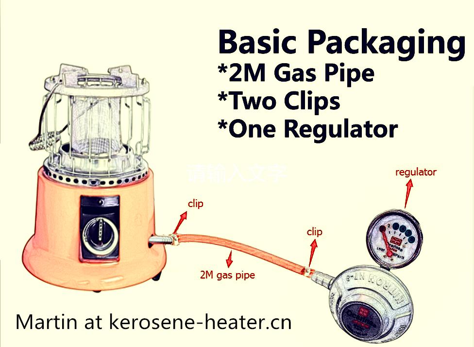 Gas heaeter for Mid East Market OC-3000