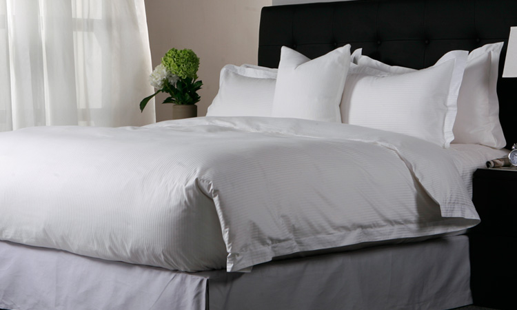 5 stars hotel bedding sets white bed sheet