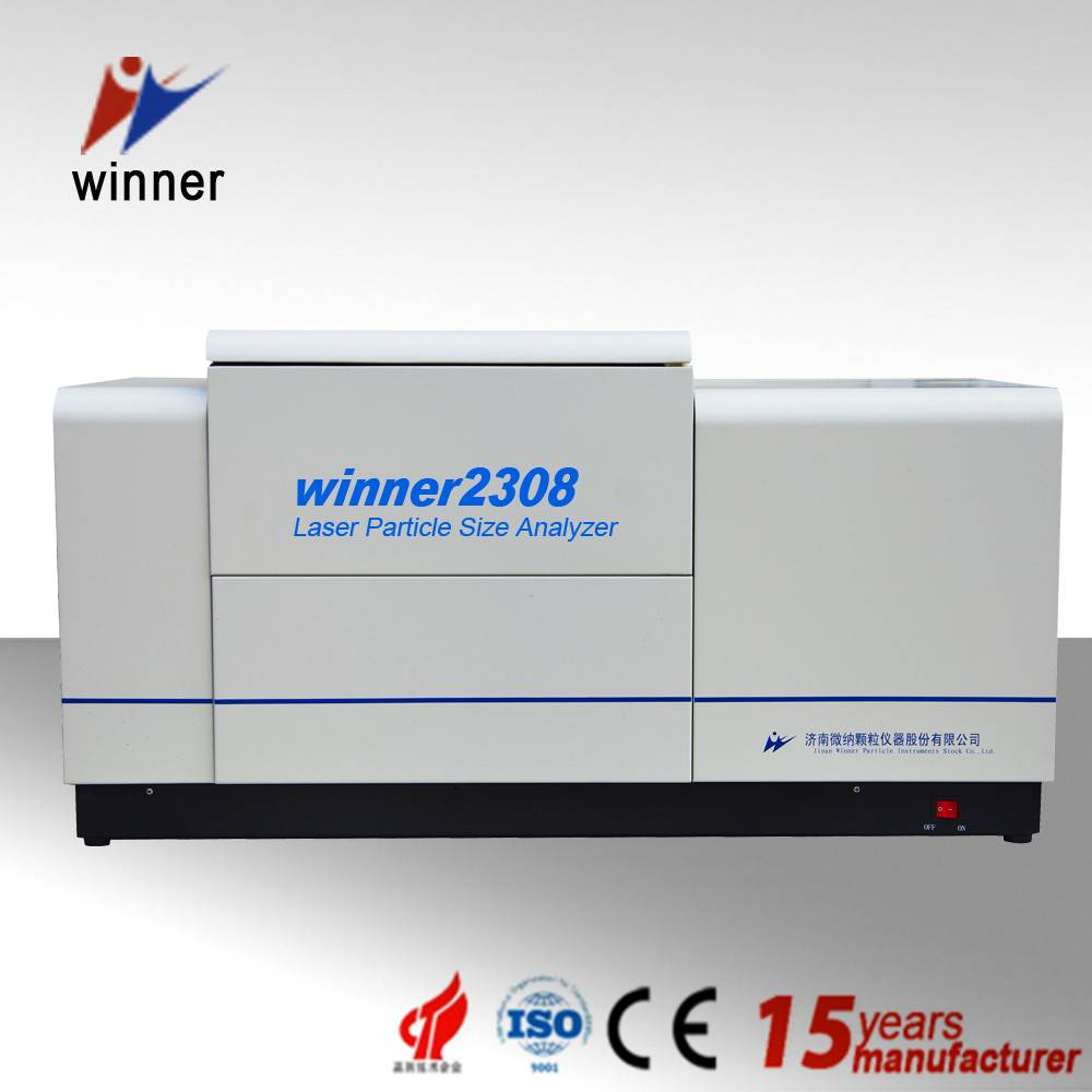 Winner2308 dry wet dispersion system laser particle size analyzer