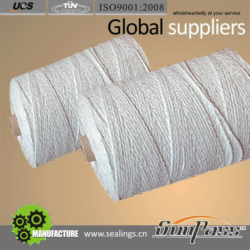 Ceramic Fiber Yarn Reinforced With Fiberglass