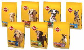 Nestle Purina, Vitakraft, Mars and Pedigree Pet Food.