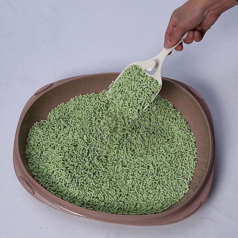Inhibits bacteria cat litter green tea pet bedding