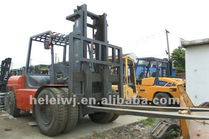 USED HELI CPCD100T FORKLIFT